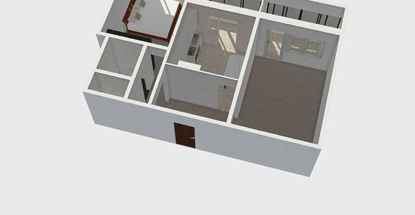 Kuhnya Interior Design Render