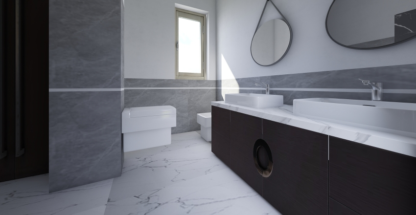 Bathroom Varallo Interior Design Render