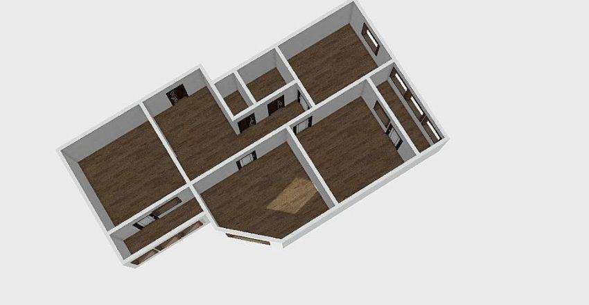 3-комн_0198 Interior Design Render