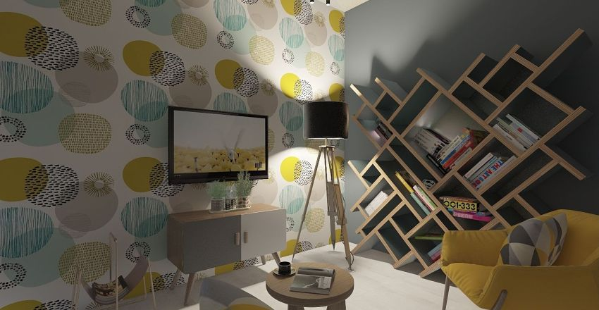 vacanze al mare Interior Design Render