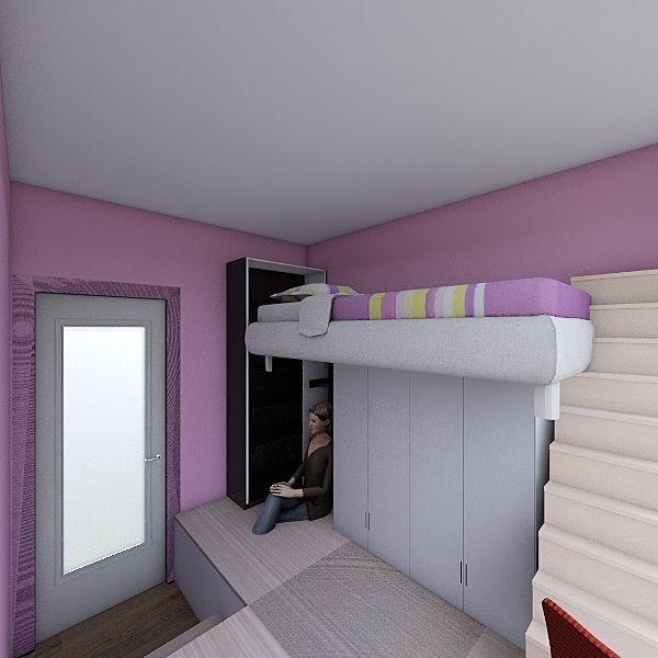 Home 22B_2Option_A Interior Design Render