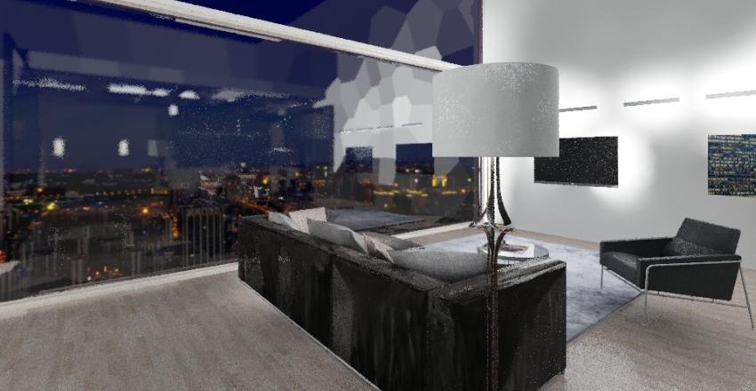 Kousuke's Apartment (I Love Yoo-Quimchee-Webtoon) Interior Design Render