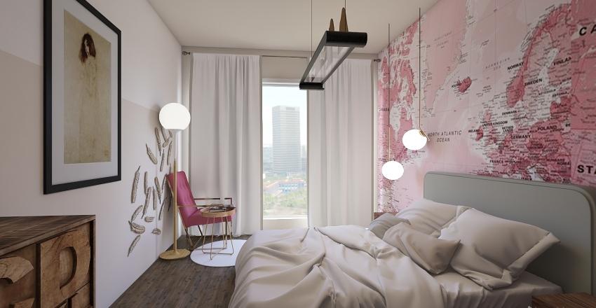 bedroom idea Interior Design Render