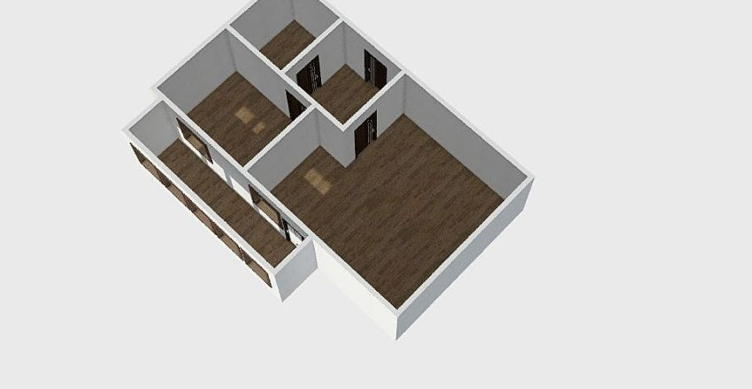1-комн_0289 Interior Design Render