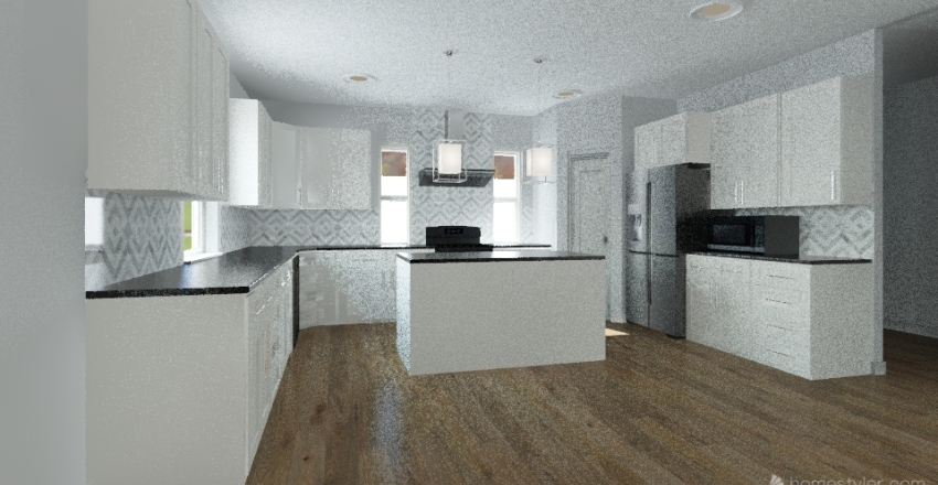 Johnson Residence Interior Design Render