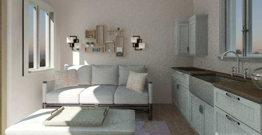 new d Interior Design Render