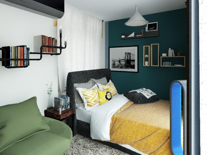 1306 Master room V3 Interior Design Render