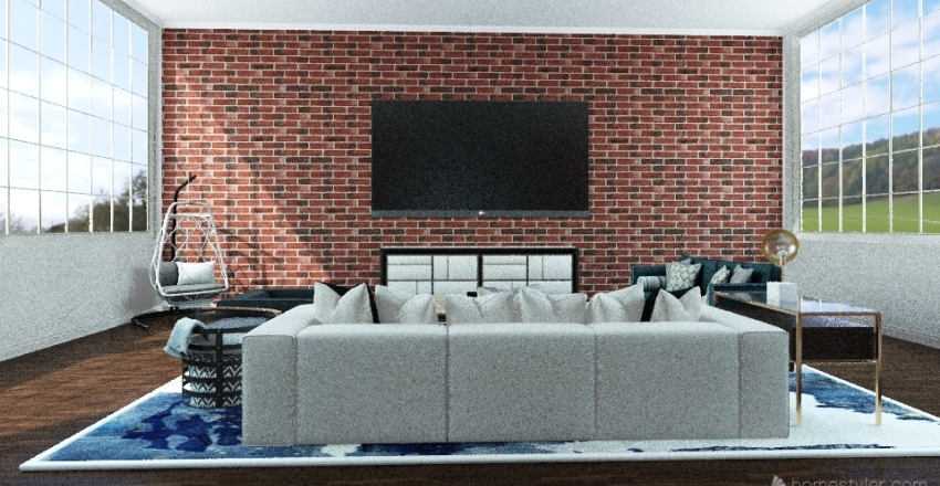 London Flat 2.0 Interior Design Render