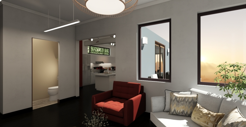 """""""†"""" House Interior Design Render"""