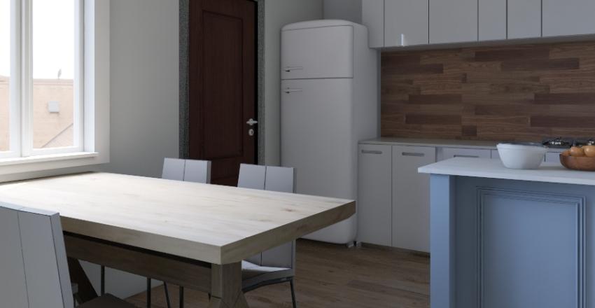 Vivienda 58 mts 2 - Corrección Interior Design Render