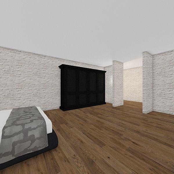 primer plano Interior Design Render