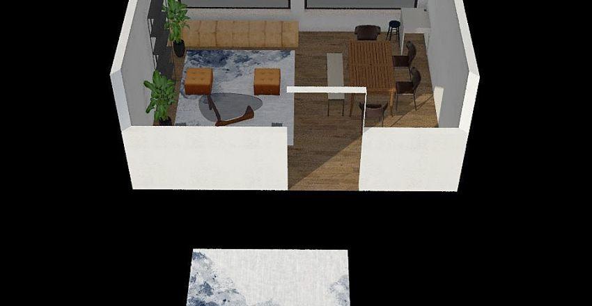 Frisky's Lair Interior Design Render