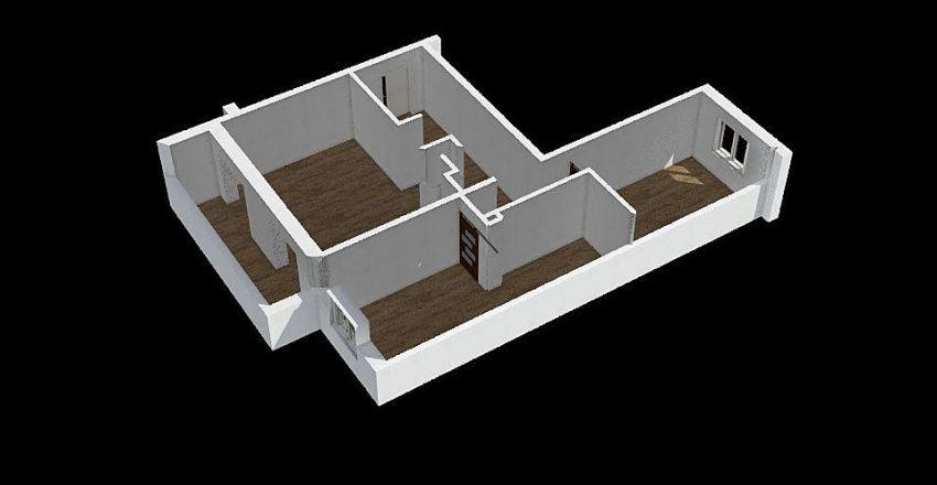 ПРОЕКТ КВ 1 Interior Design Render
