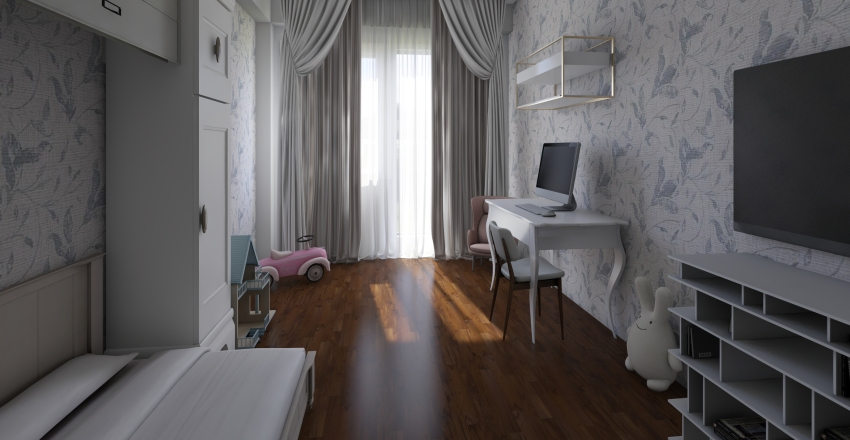 детская Interior Design Render