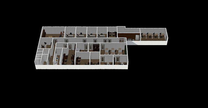 פרשמרקט משרדים בת ים Interior Design Render
