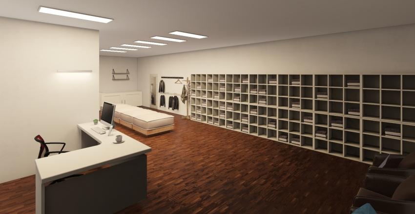 tech design Interior Design Render
