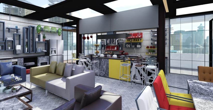 blocco A E B Interior Design Render