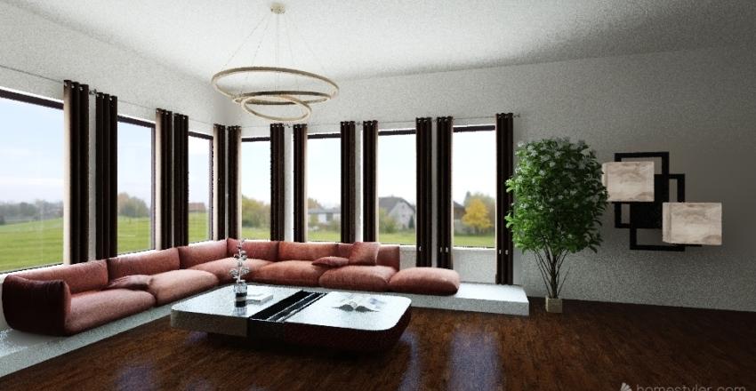 over the phu Interior Design Render