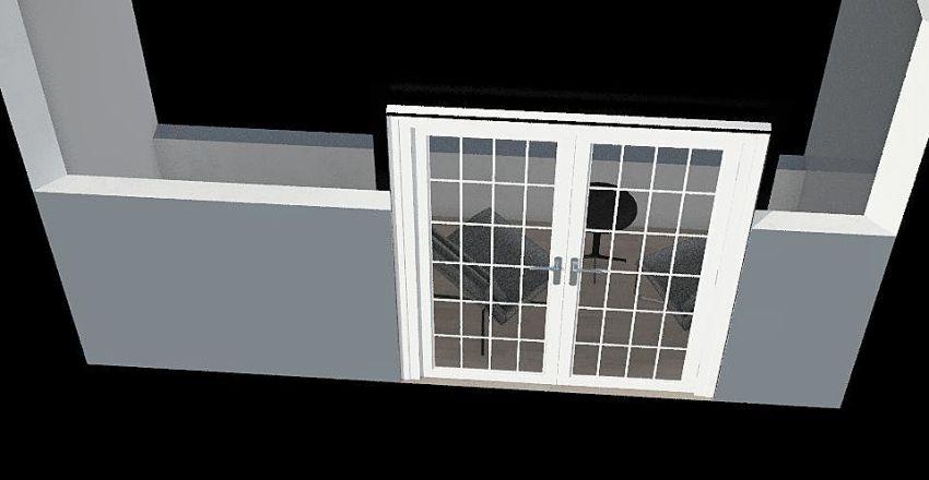 陽台 Interior Design Render