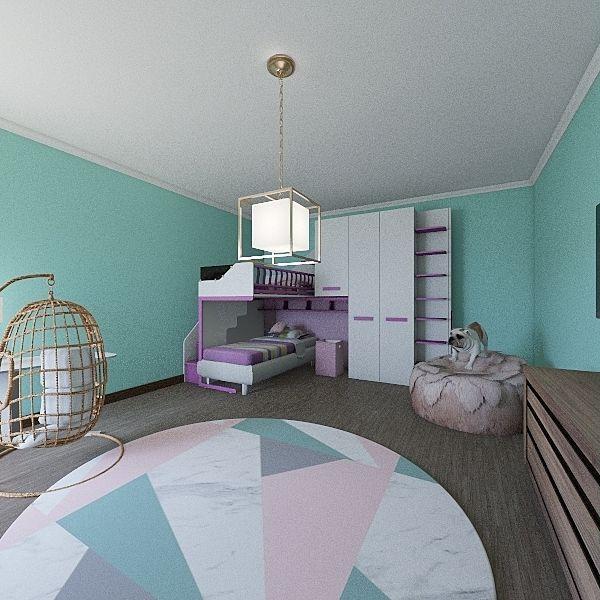 Beeps Beeps Rockin Room Interior Design Render