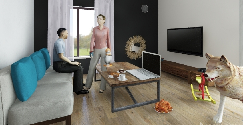 home Interior Design Render
