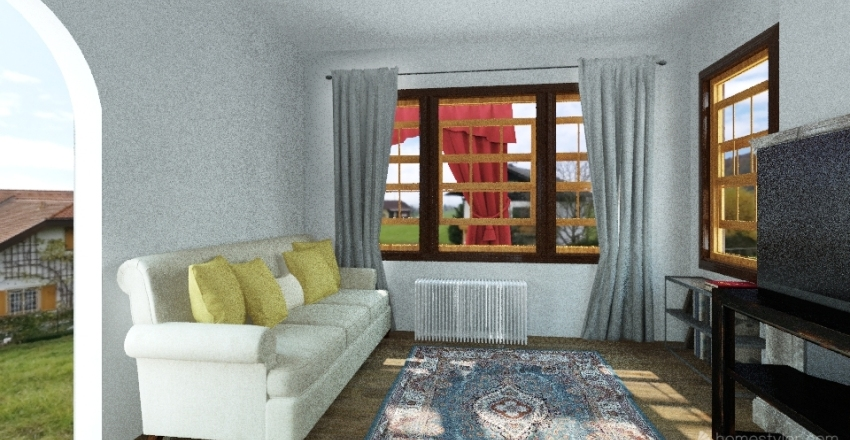 Lad Pad Interior Design Render