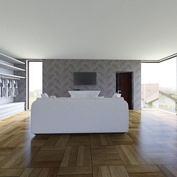 Bedroom 1 Interior Design Render