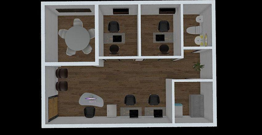 OFICINA DYNSOL OPCION 2 Interior Design Render