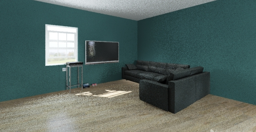 Andos House Interior Design Render