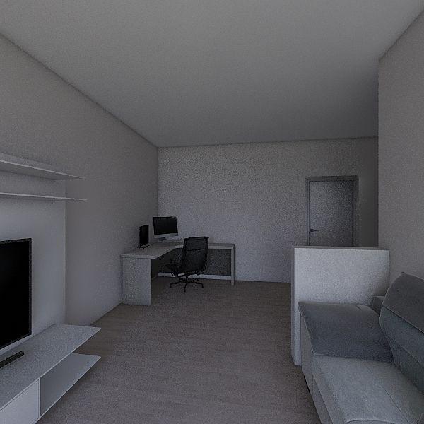 FirstProject Interior Design Render