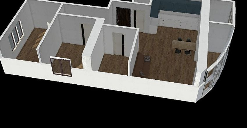 2 - 1 Interior Design Render