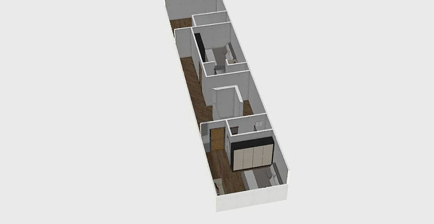 Tan Binh House Interior Design Render