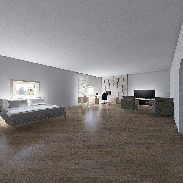 bubbaeroom Interior Design Render