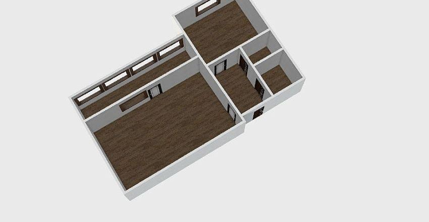 1-комн_0303 Interior Design Render