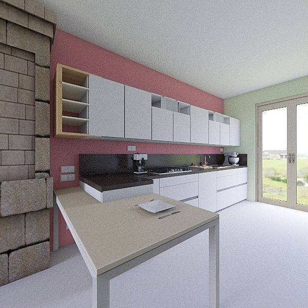 Via Collegno 13 agosto 2019 Interior Design Render