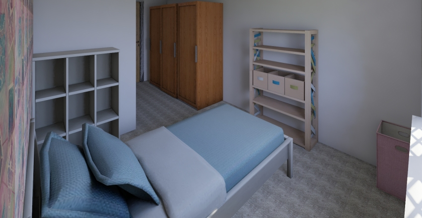 Emma Bedroom Interior Design Render