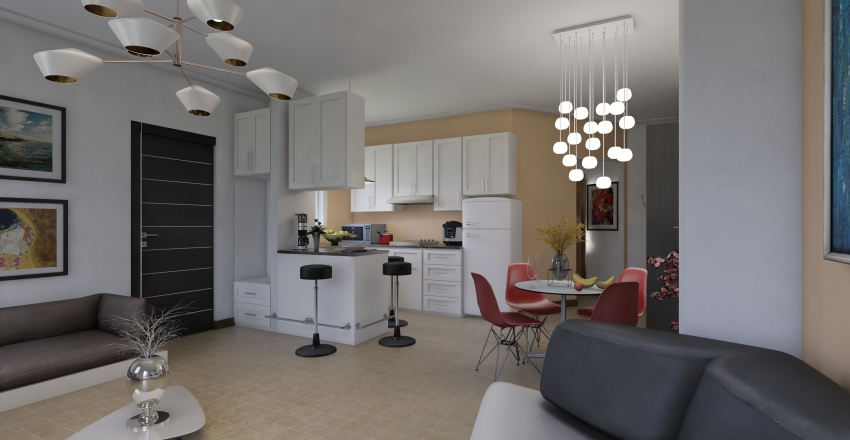 island-holydays home Interior Design Render