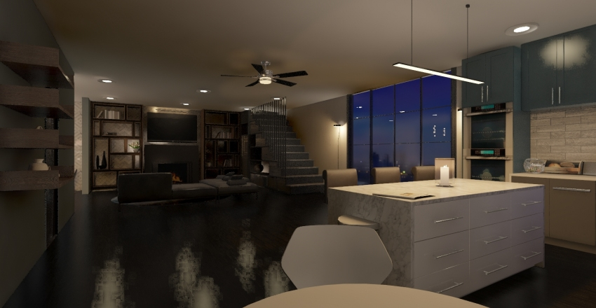 First Try Interior Design Render