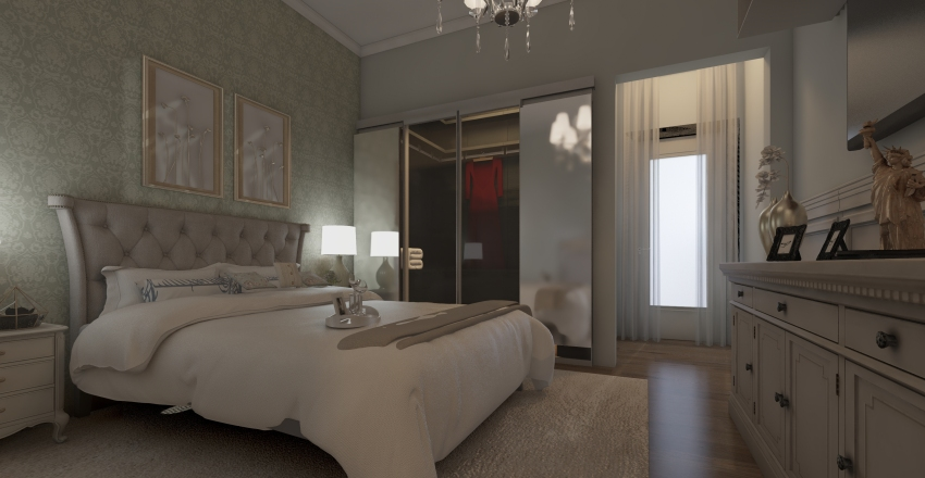 casa da Deza Interior Design Render