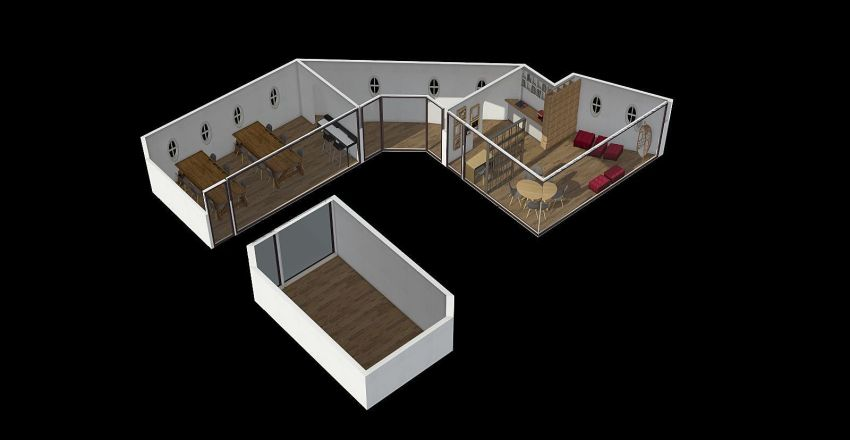 Lojas Interior Design Render