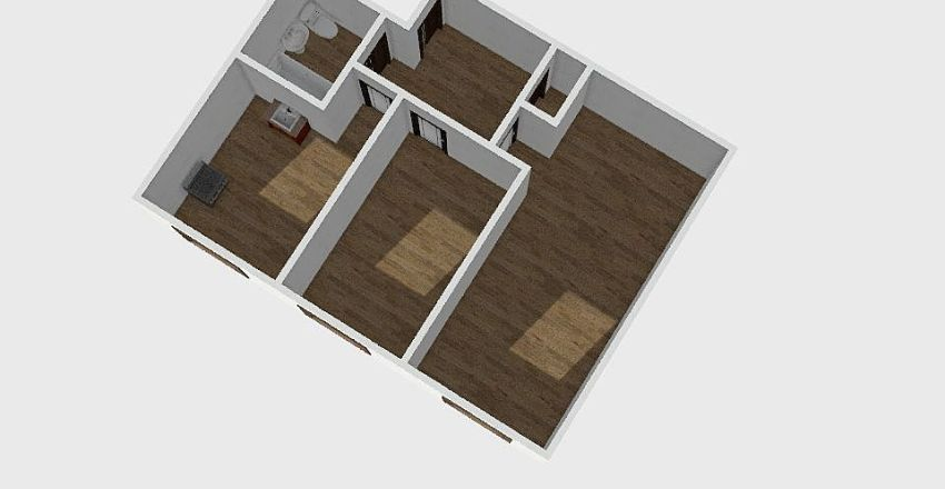 2-комн_0203_1 Interior Design Render