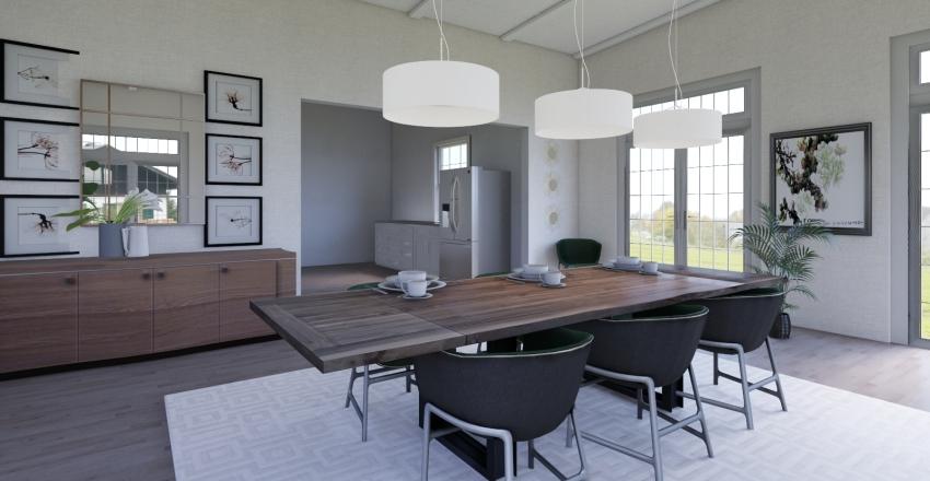 Dining Room #2 Interior Design Render