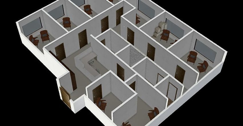 grzybowska Interior Design Render