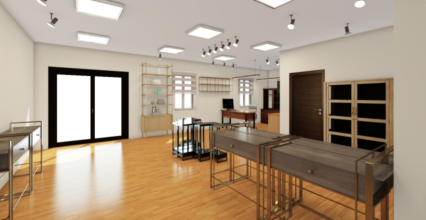 Craft Products Gallery Interior Design Render