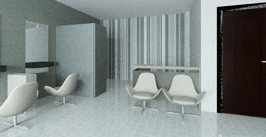 Ilse Salon Interior Design Render