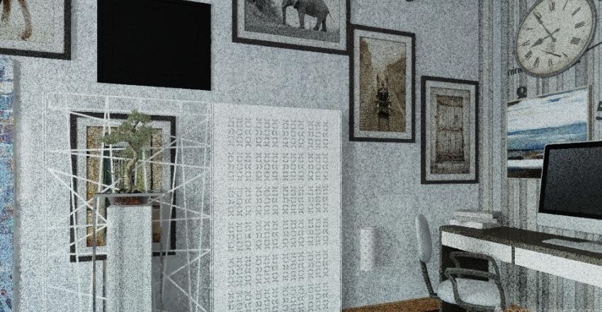 Victoria's Office  Interior Design Render