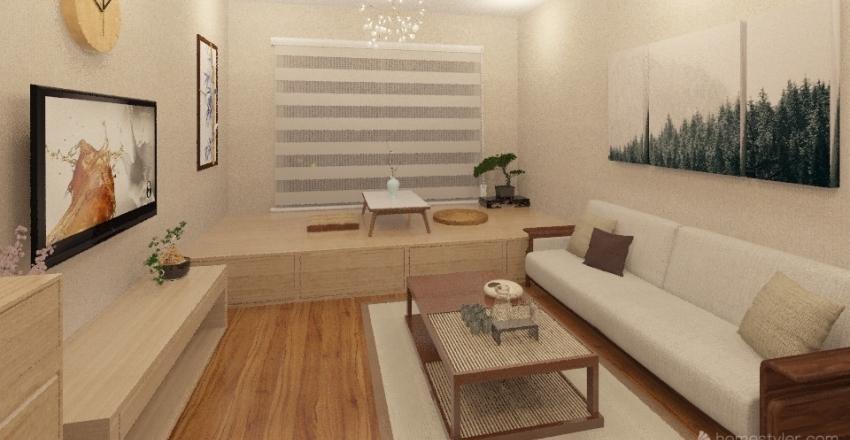 ZEN Interior Design Render