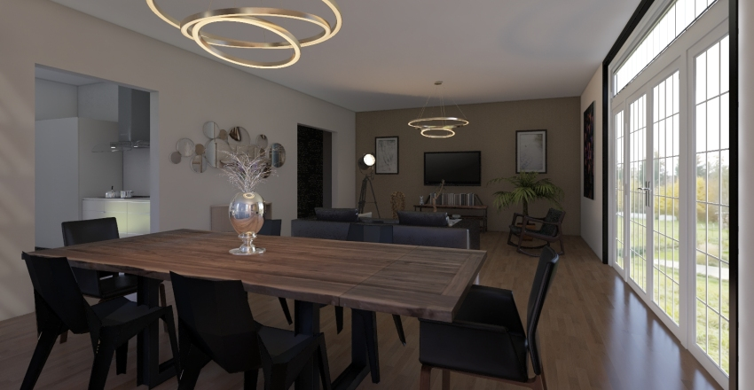 MAISON PP Interior Design Render