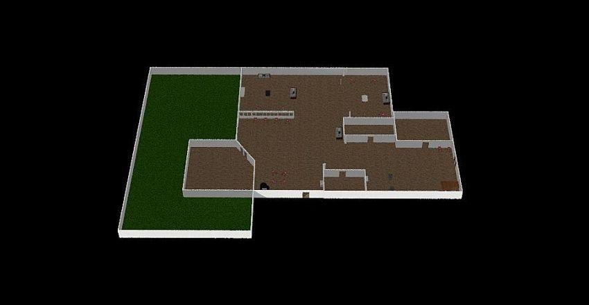 Cypress Lake Interior Design Render