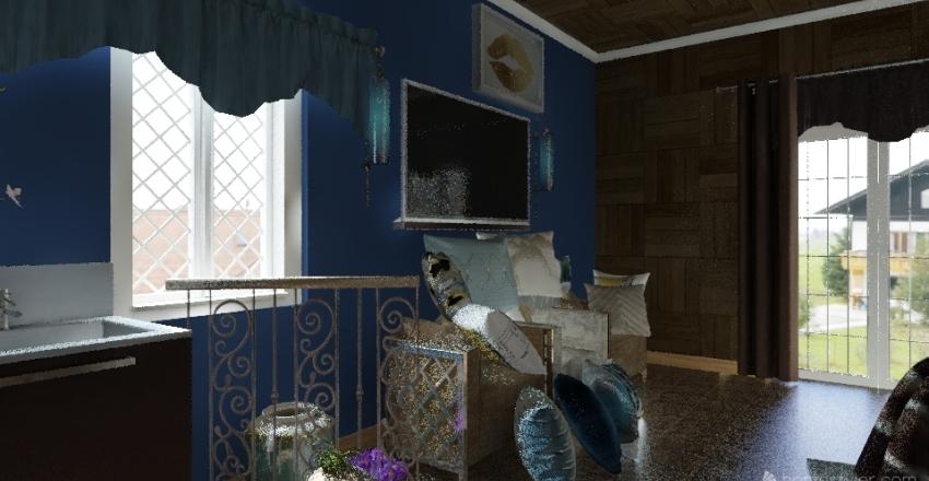A Girls Place  Interior Design Render
